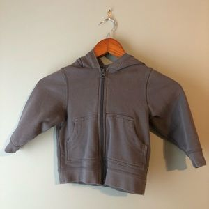 Hanna Andersson grey jacket size 90